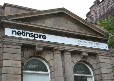 Netinspire Web Design Studio, Exterior Sign