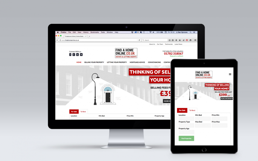 Findahome Online Gets New Brand & Website Design