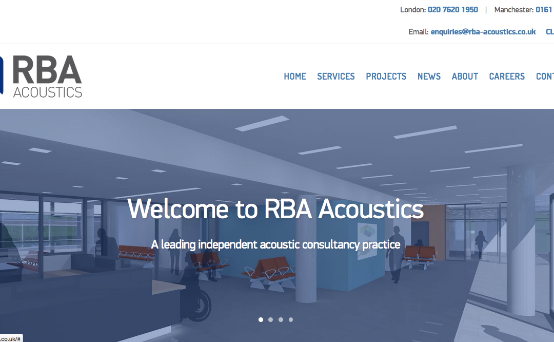 Giving RBA Acoustics a Sound Digital Platform for Business