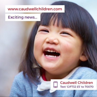 Caudwell Children's new website courtesy of Netinspire